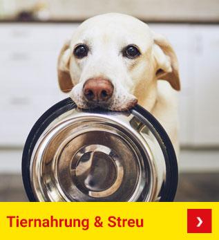 Tiernahrung & Streu
