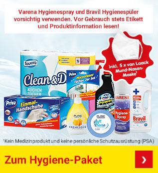 Hygiene-Paket