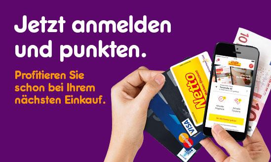 aktionscode deutschlandcard app
