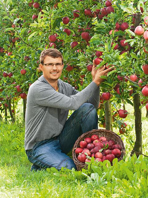 Hendrik Kraft - Obst-Bauer aus Alperstedt