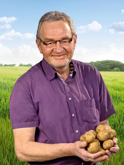 Siegfried Enzenberg - Gemüse-Bauer aus Barby