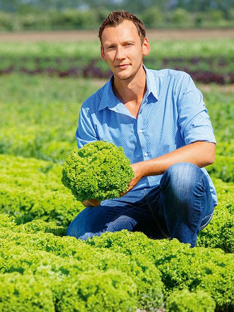 Robert Döpelheuer - Gemüse-Bauer aus Köthen