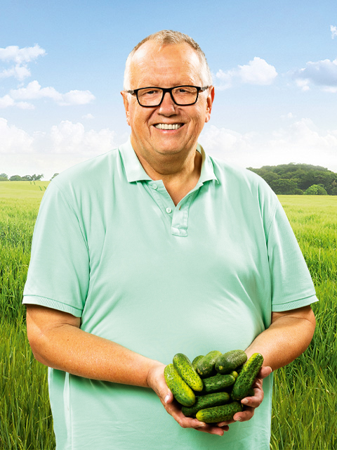 Heinz Peter Frehn - Gemüse-Bauer aus Steinreich