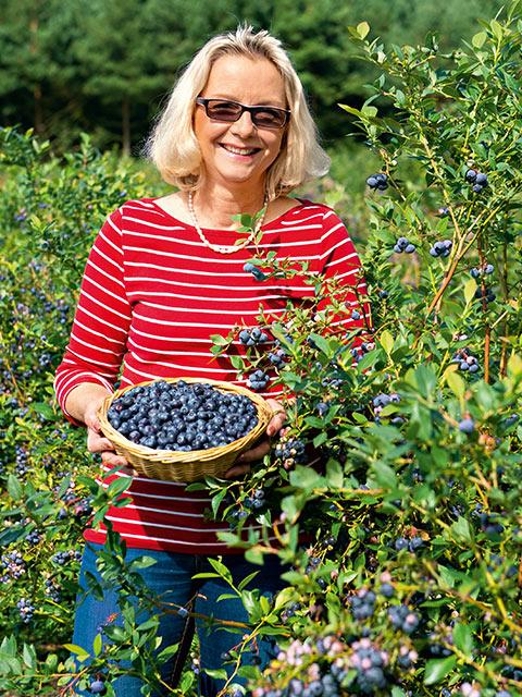 Christina Badenhop - Obst-Bäuerin aus Schwarmstedt