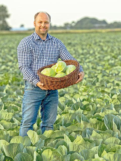 Karsten Witt - Gemüse-Bauer aus Neufeld