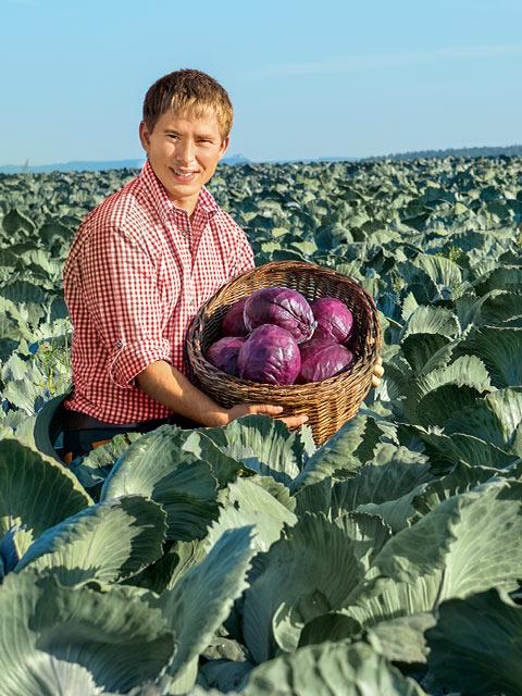 Michael Bayha - Gemüse-Bauer aus Ostfildern