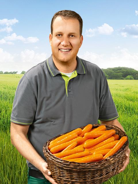 Tobias Brun - Gemüse-Bauer aus Borken
