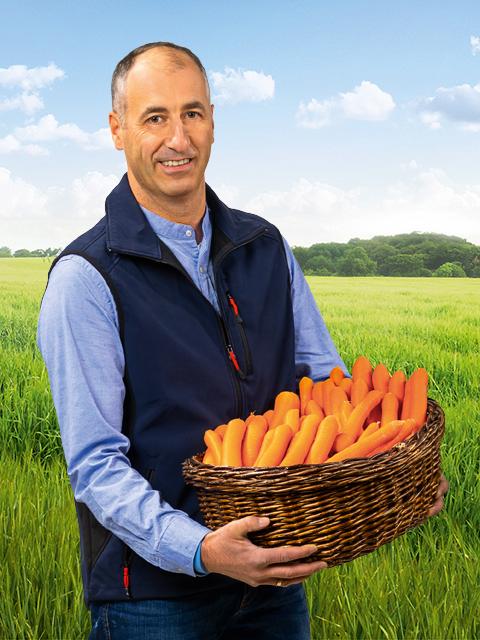 Klaus Kaufmann - Gemüse-Bauer aus Freisbach