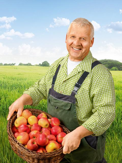 Berthold Müller - Obst-Bauer aus Salem