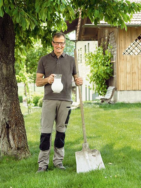 Josef Schreiner - Milch-Bauer aus Furth im Wald