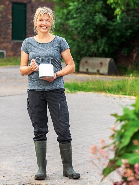 Dorothee Lindenkamp - Milch-Bäuerin aus Hünxe