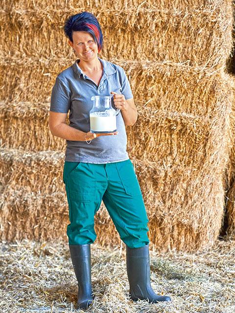 Christina Pötzsch - Milch-Bäuerin aus Röderland