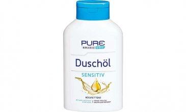 Pure & Basic med Duschöl Sensitiv