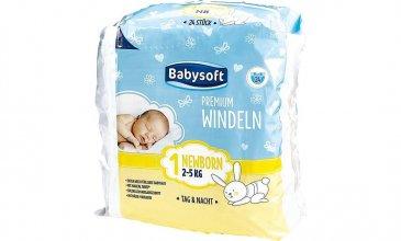 Babysoft Premium Windeln 1 Newborn