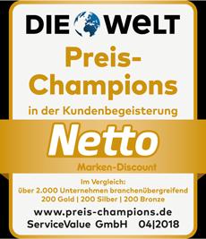 Wir sind Deutschlands Preis-Champion 2018