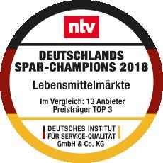 Wir sind Deutschlands Spar-Champion 2018