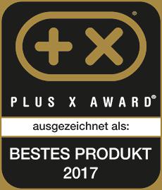 Die Cremesso Compact One II hat den Plus X Award 2017 in fünf Kategorien gewonnen