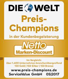 Wir sind Deutschlands Preis-Champion 2017