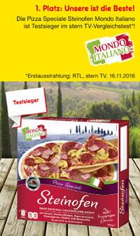 Unsere Pizza Mondo Italiano Speziale im Test gegen Markenprodukte