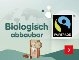 Biologisch abbaubar - unsere Fairtrade Kaffee-Kapseln