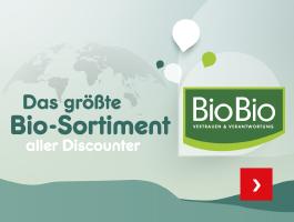 Netto hat das größte Bio-Sortiment aller Discounter