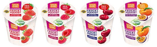 Viva Vital laktosefreier Fruchtjoghurt 3,8% 150g