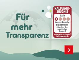 Haltungszeugnis - Für mehr Transparenz
