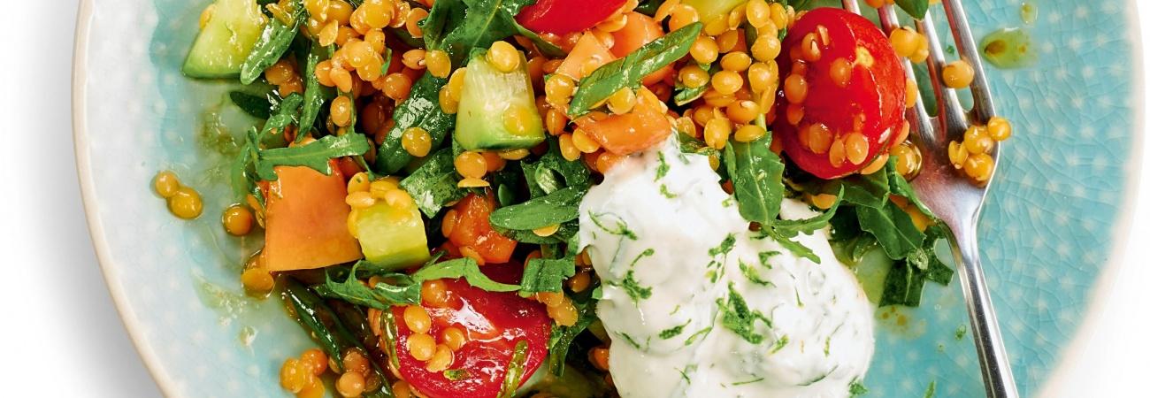 Salat Aus Der Tüte